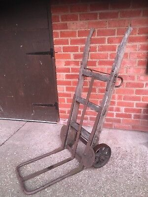 sack barrow heavy duty old vintage post office in great condition
