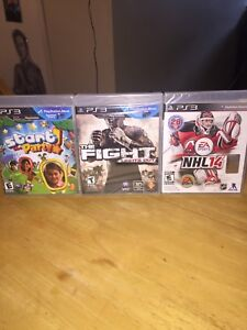 PS3 games new unwrapped.3 games $20