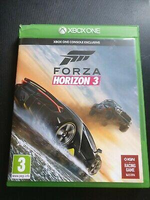 Forza horizon 3 Game for Microsoft XBOX ONE