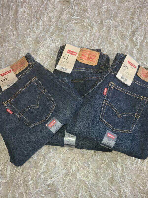 LEVIS Boys Jeans Size 10 Levis 527 25 X 25