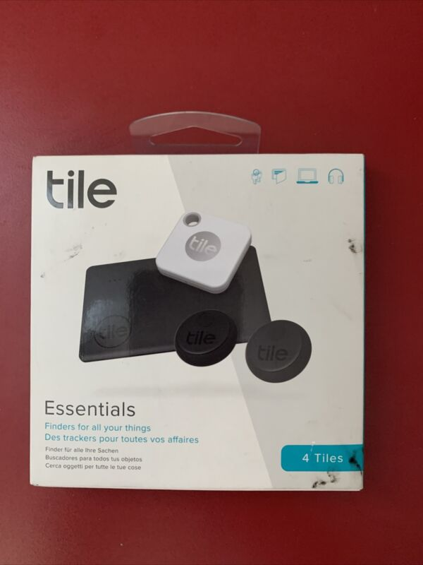 Tile Essentials Mate Slim Sticker Trackers RE-24004 (4-Pack)