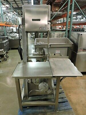 Hobart 5700d Slantsaw Commercial Meat Saw 3 Ph 3 Hp 200-230v