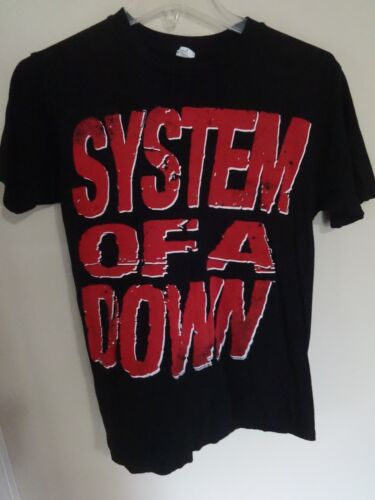 Vintage EUC System Of A Down Tour Band Graphic Printed T-Shirt Men Small