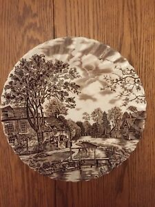 English Ironstone Transferware