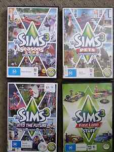 A1 used condition four Sims 3 expansion packs. Cardiff South Lake Macquarie Area Preview