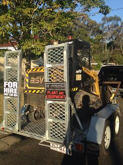 Positrack, bobcat, Pt30, Hire, Dry Hire, Skid steer. Brisbane City Brisbane North West Preview