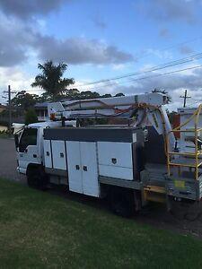 Cherry picker mounted on isuzu truck $42800 call 0 Kogarah Bay Kogarah Area Preview