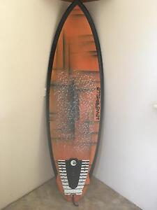 """Surfboard 5'8""""Stringerless carbon rail Karrinyup Stirling Area Preview"""
