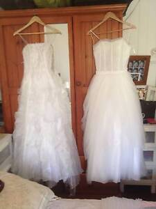 Wedding Dress Petite size 6 to 8 perfect condition Auchenflower Brisbane North West Preview