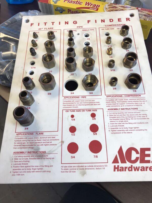 Original Ace Hardware Store Sign Display Vintage