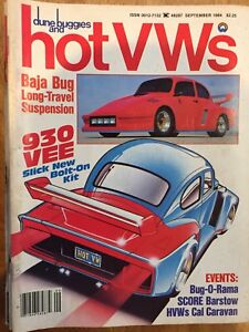 Dune Buggies and Hot VW's Magazines from 1980's
