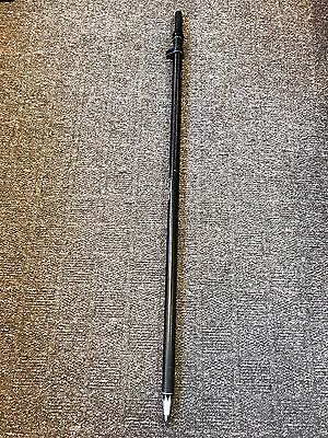 Used 2m Leica Gls30 Carbon Fibre Telescopic Gps Detail Pole - Good Condition