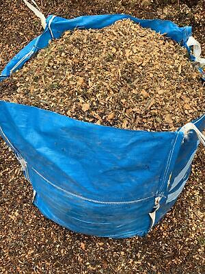 Wood chip - Mulch - Bark - Wood Chipping - Bulk Bag - Free LOCAL Delivery