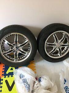 """18"""" Rims & Tires"""