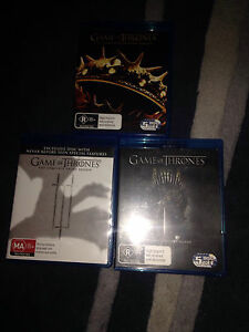 Game of Thrones Tv show Blu Ray Epping Whittlesea Area Preview