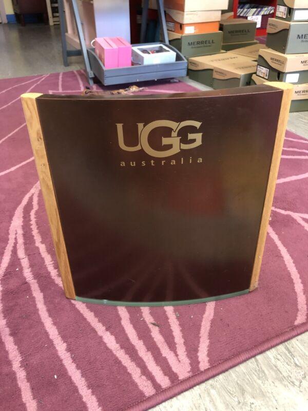 Ugg Australia Metal Wood Advertising Sign