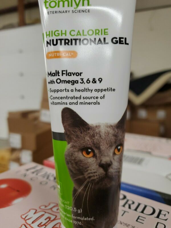 TOMLYN Cat High Calorie-Nutritional Gel Nutri-Cal Cats Vitamin Mineral Omega-3