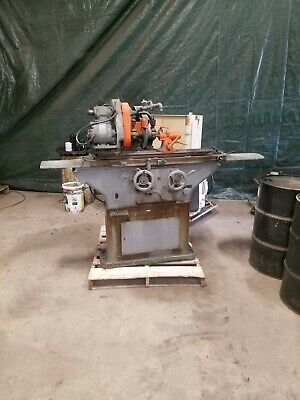 Brown And Sharpe Center Grinder Tool Cutter Polisher Works Great
