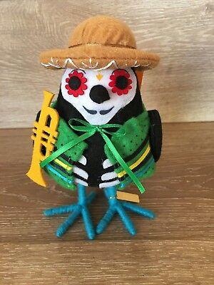 Target Halloween Bird Hyde and Eek Featherly Friends TROMPETISTA - Halloween Decorations 2017 Target