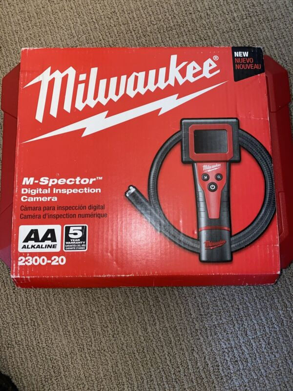 Milwaukee 2300-20 M-Spector 360 Rotating Inspection Scope