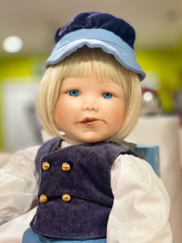 ASHTON DRAKE INTERNATIONAL FESTIVAL OF TOYS AND TOTS COLLECTIBLE DOLL HANS  - $20.00