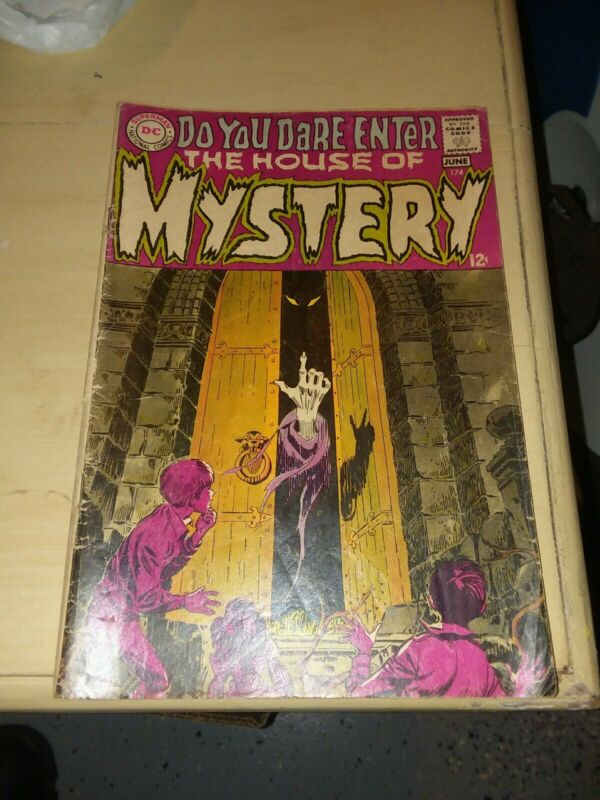 House of Mystery #174 dc comics 1968 classic neal adams cover 1st mystery format