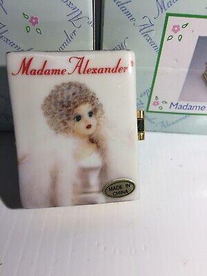 Fine Porcelain Madame Alexander Book Classic Collectibles Trinket Box NIB Madame Alexander Classic Collectibles