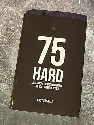 75 Hard: A Tactical Guide To Winning The War With Yourself #75hard 75 hard book