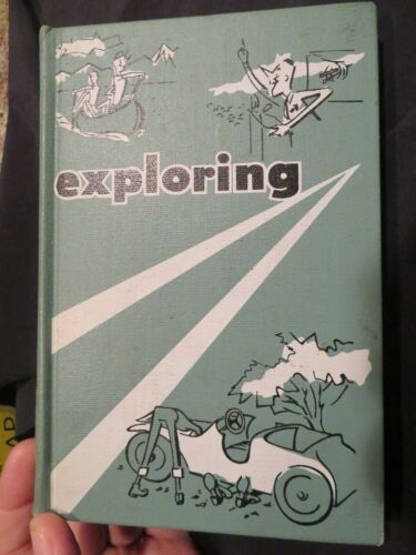 """1958 """"EXPLORING"""" Boy Scouts of America 317 Pages Explorer Scouts"""
