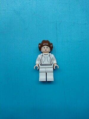 Lego Star Wars Minifigure Smooth Hair Princess Leia White Dress 10198 RARE! - Princess Leia White Dress