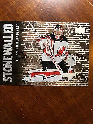 18-19 UD Series 1 Stonewalled #SW-5 Corey Schneider