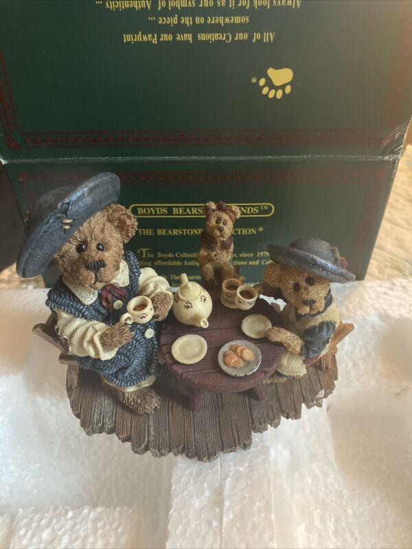 NIB Boyds Bears Catherine Caitlin Berriweather #02000-41 resin 2000 collectors