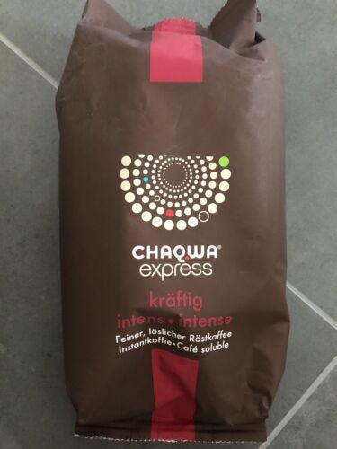 Chaqwa Express löslicher Röstkaffee Kaffee 500 Gr