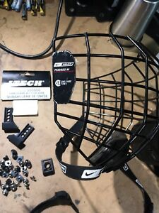 Bauer youth wire mask and helmet hardware kit