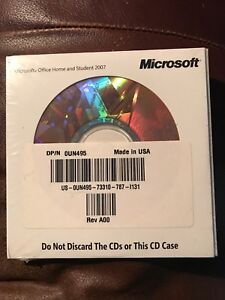 Microsoft office home and student edition OEM brand new  $45