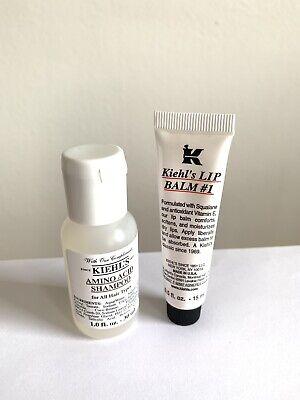 Kiehl's Produkte: Lip Balm 15ml & Amino Acid Shampoo 30ml - NEU &