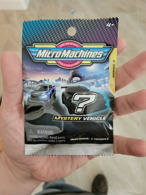 2020 2021 Micro Machines Series 3 Single Pack Blind Bags Mystery Vehicle