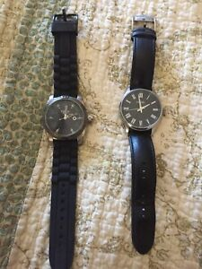Men's fossil watches.