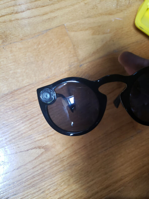 MODIFIED Snap Inc. Snapchat Spectacles Glasses - Onyx Eclipse