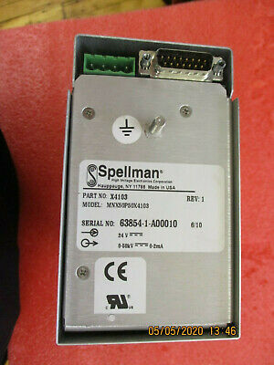 New - Spellman - Mnx50p50x4103 - High Voltage Power Supply