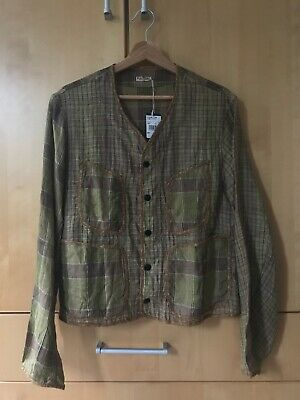 Kapital Japan Linen Cropped Jacket Top