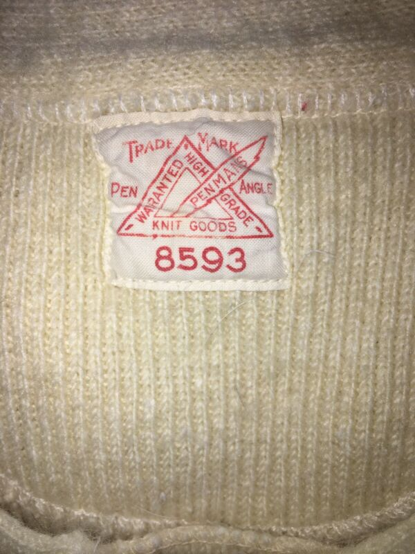 Vintage (rare) Penmans Trademark Long Shirt Merino Wool Made In Canada