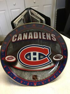 Montreal Canadiens plate