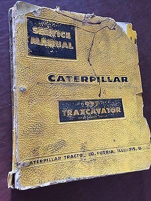 Caterpillar Cat Crawler 977 Traxcavator Loader Service Manual 58a