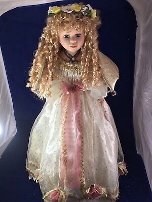 """J. Misa Collection Cynthia Angel Doll Porcelain 27.5""""  for sale  Lawndale"""