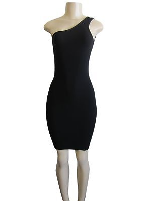 One Shoulder Bodycon Fitted Club Party Cocktail Mini Dress (One Shoulder Club Cocktail Mini)