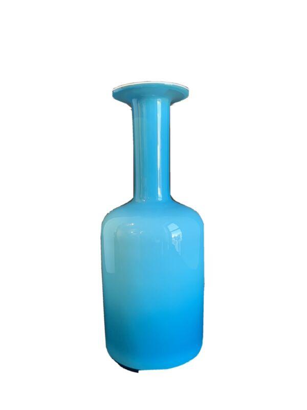 """HOLMEGAARD Gulvase 12"""" Blue"""