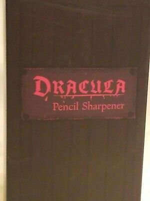 loot crate Dracula pencil sharpener NRFB *CL*