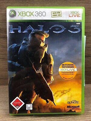 FSK18 • Xbox 360 Spiel • HALO 3 • Guter Zustand #M39