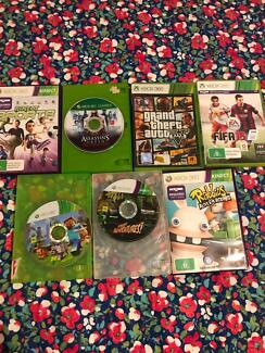Xbox 360 games (all work)